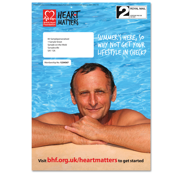 BHF Carrier sheet
