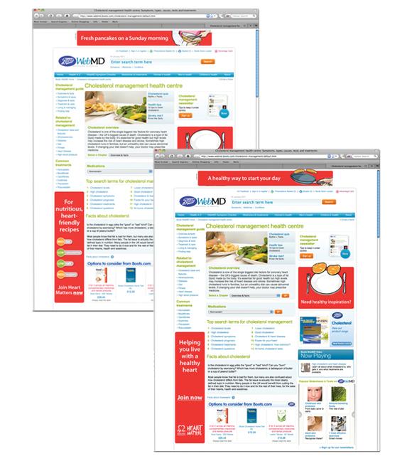BHF Web banners